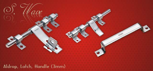 S Wave Series Door Handles, Latches, Door, Cabinet Handles